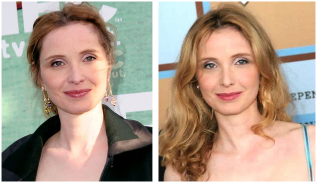 Julie Delpy: maquillage