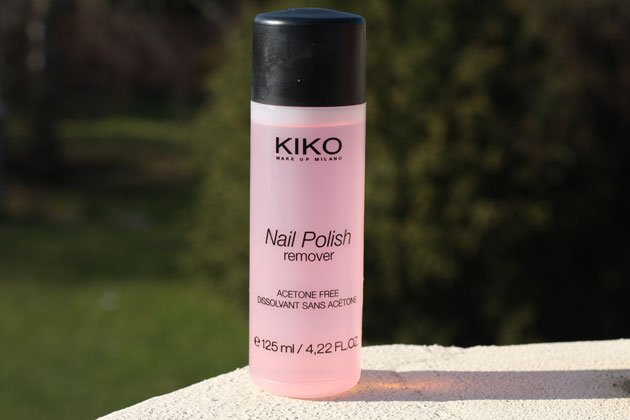 nail polish remover kiko juste sublime. Black Bedroom Furniture Sets. Home Design Ideas