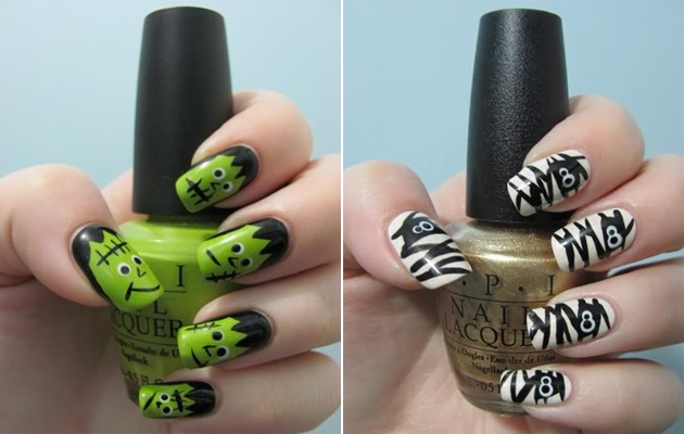 Fun Halloween Nail Designs