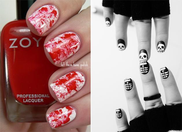 Fabulous 10 Idées Nail Art pour Halloween | Juste Sublime PS65