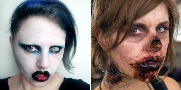 Maquillage Halloween: idées tutos femme homme  Juste Sublime
