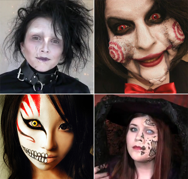 Maquillage halloween id es tutos femme homme juste sublime Maquillage de diablesse facile a faire