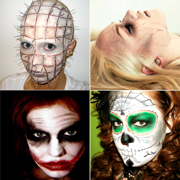 Maquillage halloween femme tuto - Tuto maquillage halloween ...