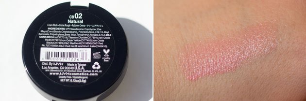 NYX Rouge Cream Blush Natural