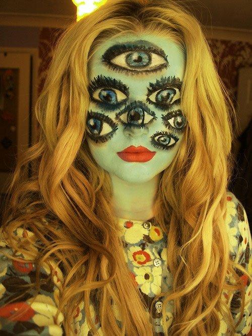 Maquillages d 39 halloween juste sublime - Comment faire un maquillage de clown qui fait peur ...
