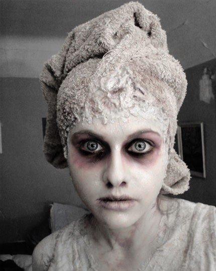 maquillage halloween qui tient