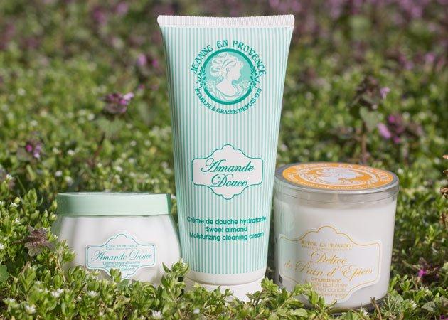 Jeanne en Provence produits Amande Douce