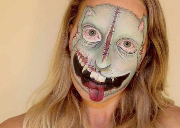 zombie-maquillage-bunny