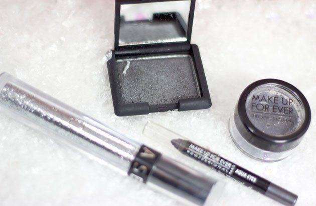 maquillage-gris-argent