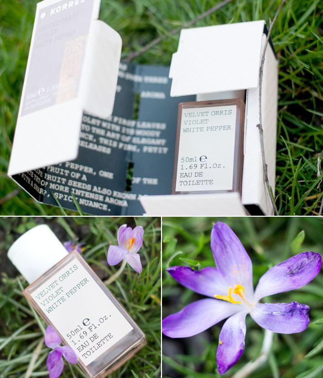 Korres - Iris, violette, poivre blanc