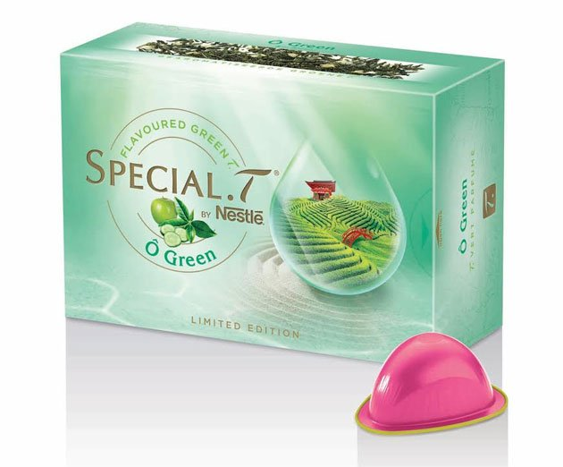 La Nouveau The Special T O Green Juste Sublime
